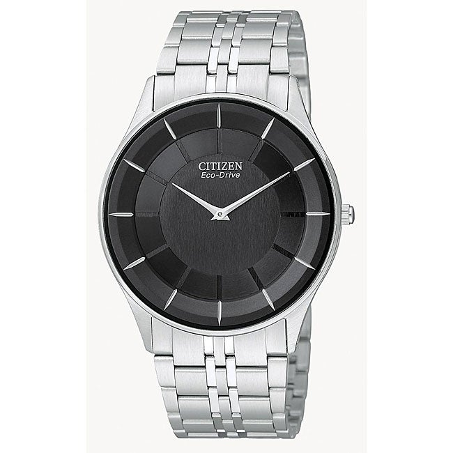 Citizen Men's Eco-drive 'Stiletto' Stainless Steel Watch