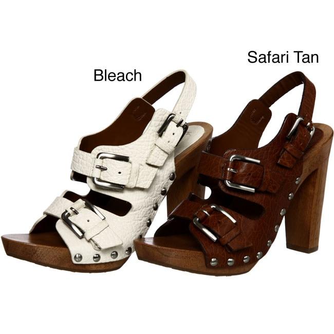 BCBGMAXAZRIA Women's 'Agreice' Leather High Heel Sandals