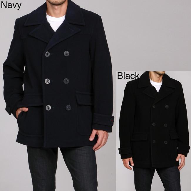 Tommy Hilfiger Men's Wool-blend Peacoat