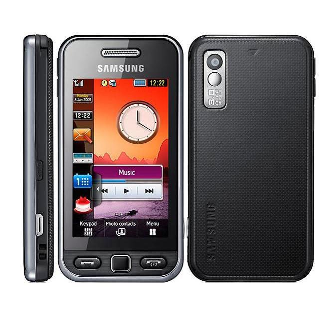 Samsung Star Charcoal GSM Unlocked Touchscreen Cell Phone