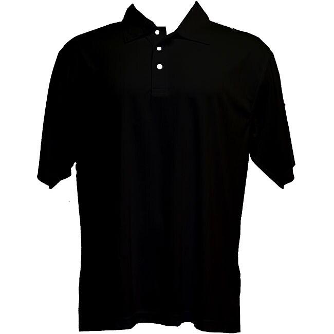 Skins Game Moisture-wicking Three-button Micro Polyester Polo Shirt