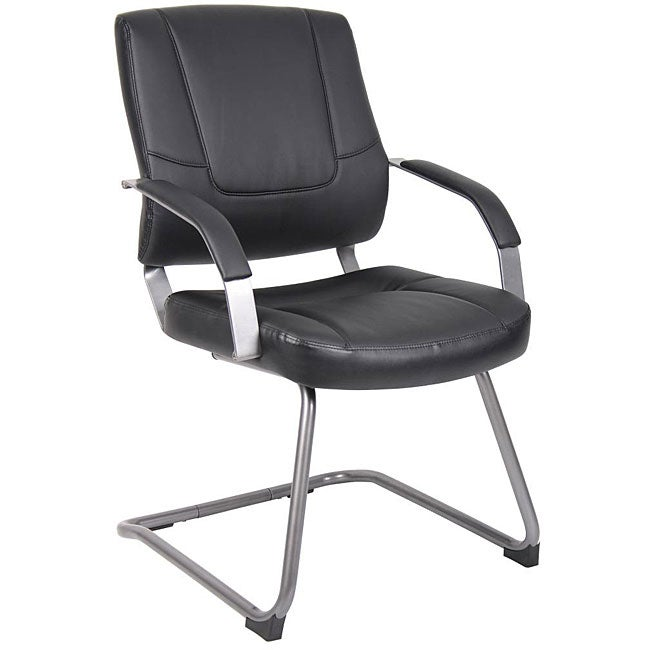 boss executive leatherplus guest chair 12744509