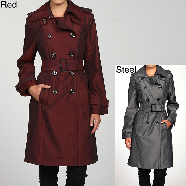 London Fog Women's Belted Trench Coat
