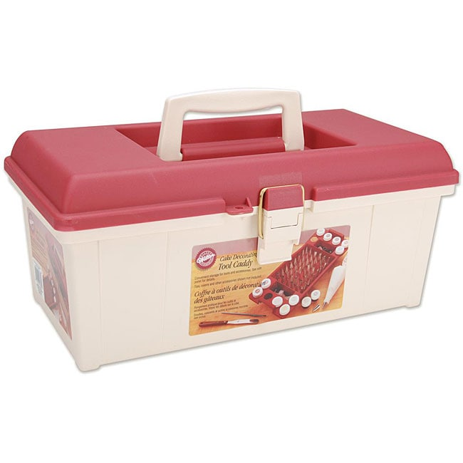Cake Decorating Organizer : Wilton Cake Decorating Tool Caddy - 12750855 - Overstock ...
