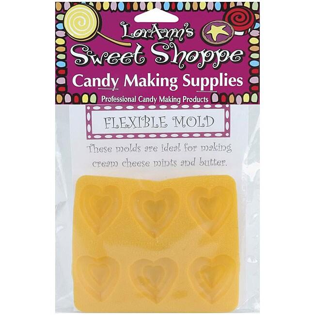 Sweet Shoppe Flexible Candy Heart Molds