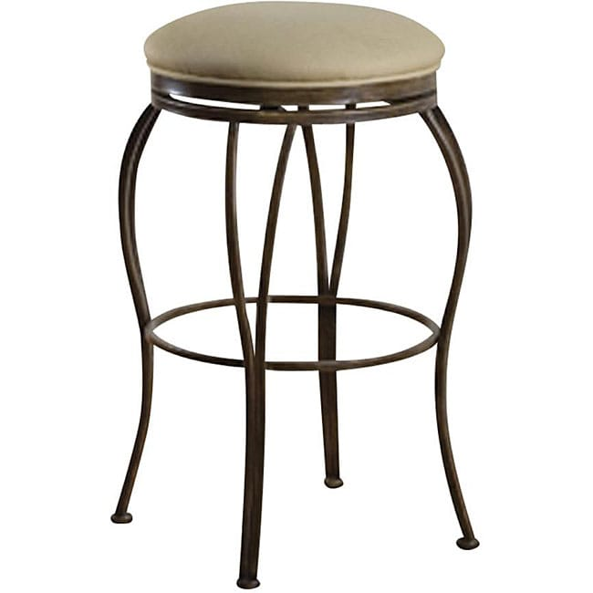 Newsome 24 Inch Swivel Counter Stool Overstock Shopping