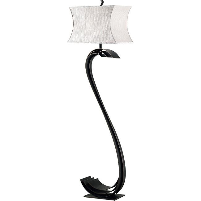 Waverly 1-light Bronze Finish Floor Lamp
