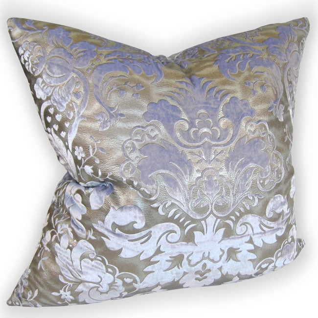 Venetian 24-inch Embossed Orchid Pillow