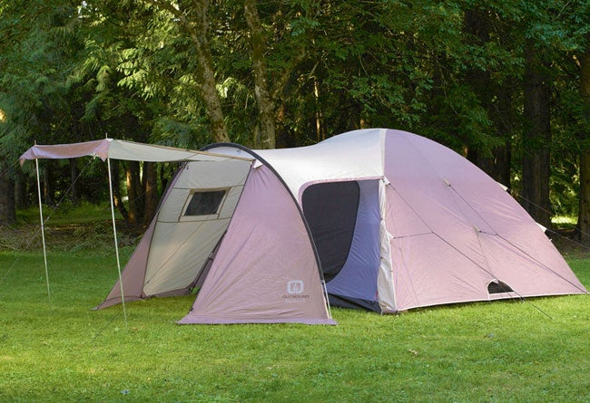 Outbound 'Explorer 6' Six-man Family Dome Tent with Vestibule