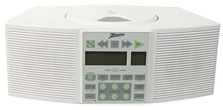 Zenith Z253 CD Clock Radio with Remote (Refurbished)