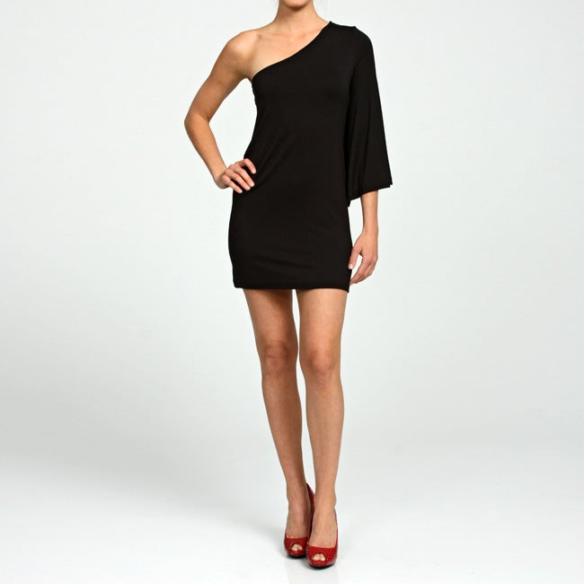 Josh Brody Women's Black One-sleeve Dress