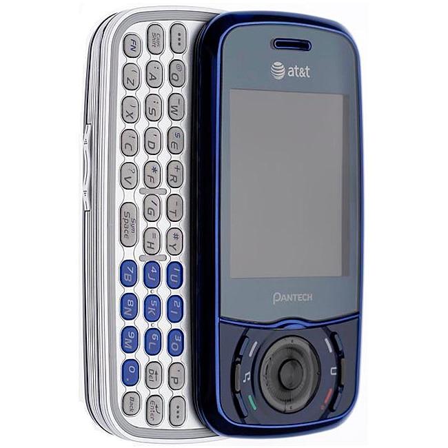 Pantech Matrix C740 Blue GSM Unlocked Cell Phone