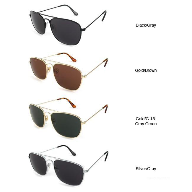Urban Eyes Men's Pilot Aviator Sunglasses