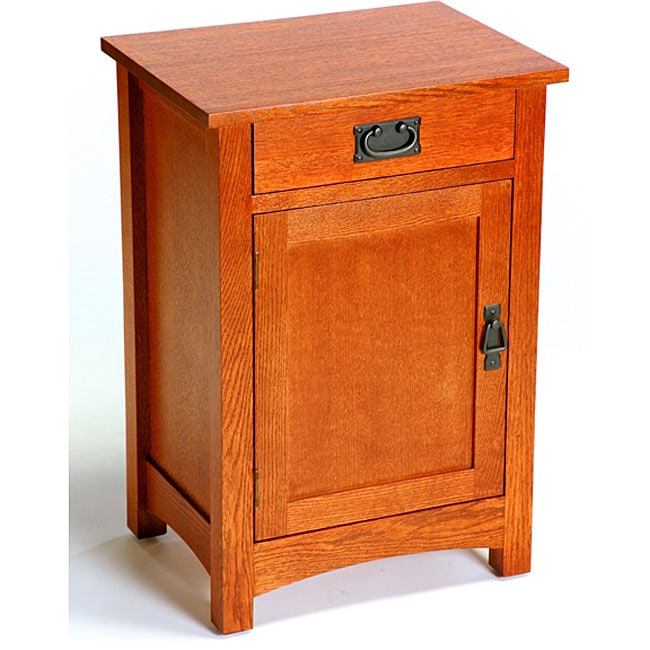 Solid Wood Coffee And End Tables For Sale: Mission Style Solid Wood Telephone Stand