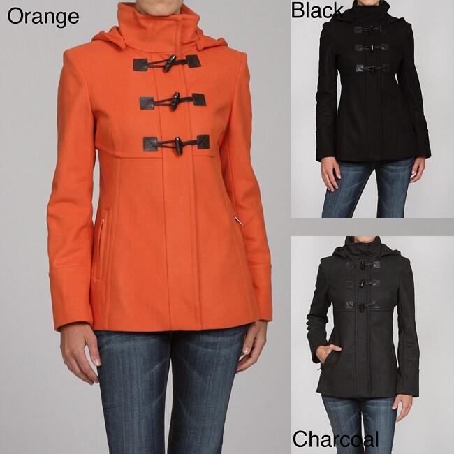 MICHAEL Michael Kors Women's Wool Toggle Coat