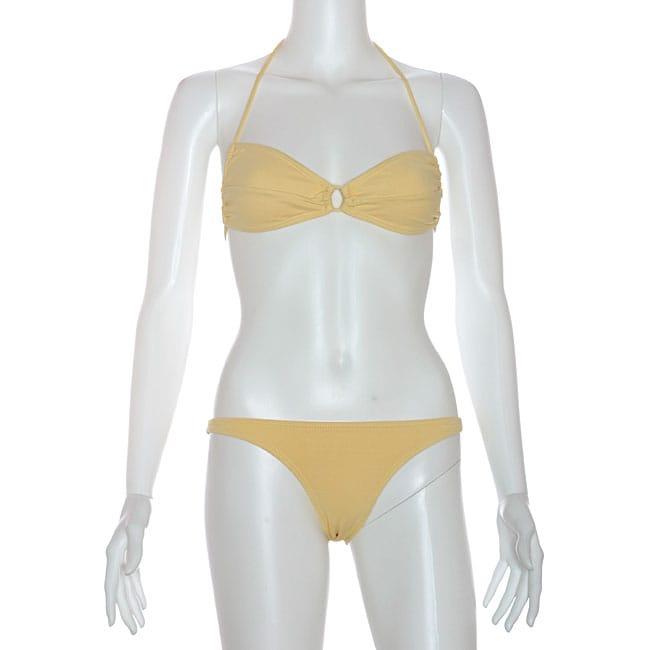 Cot'n by Lucenti Swimwear Women's Gemada Bandeau Bikini