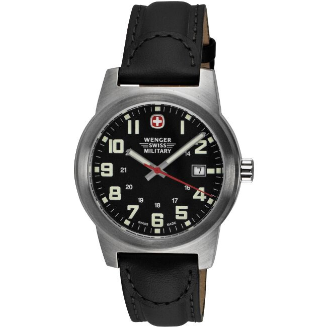 Wenger Swiss Military Men's Classic Field Watch