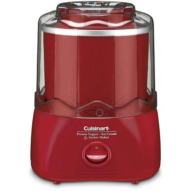 Cuisinart ICE-20R 1.5-quart Automatic Ice Cream/ Frozen Yogurt Maker (Refurbished)