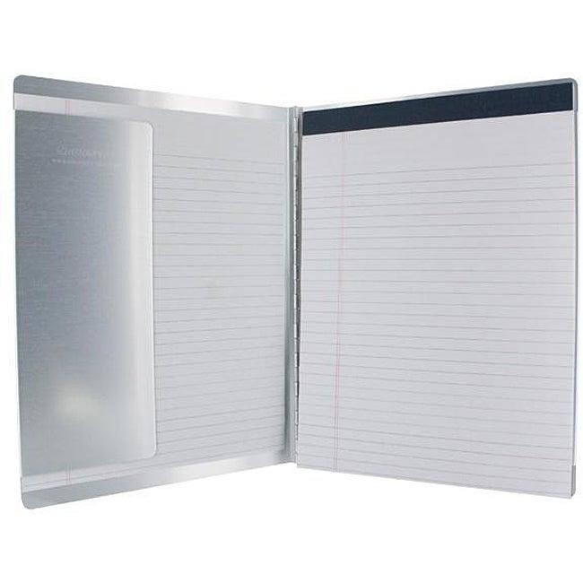 Saunders Acrylic Letter Size Durable Alumimum Pad Holder