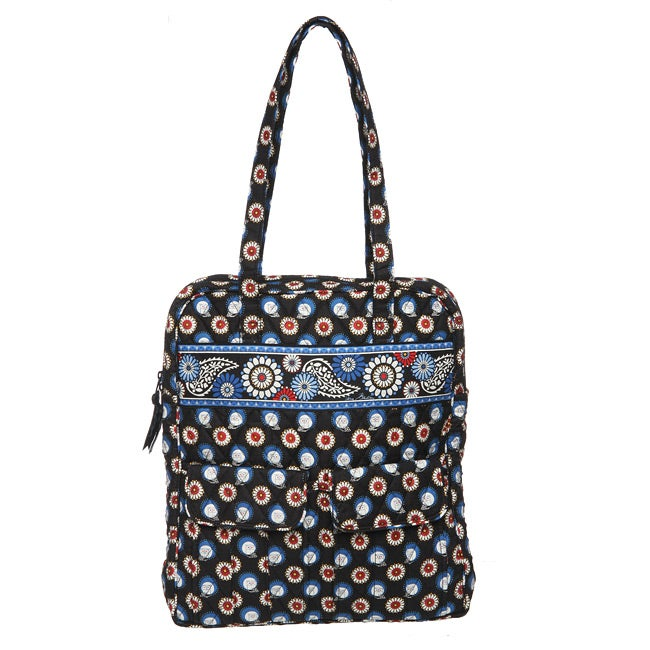 Vera Bradley 'Night Owl' Tall Zip Tote