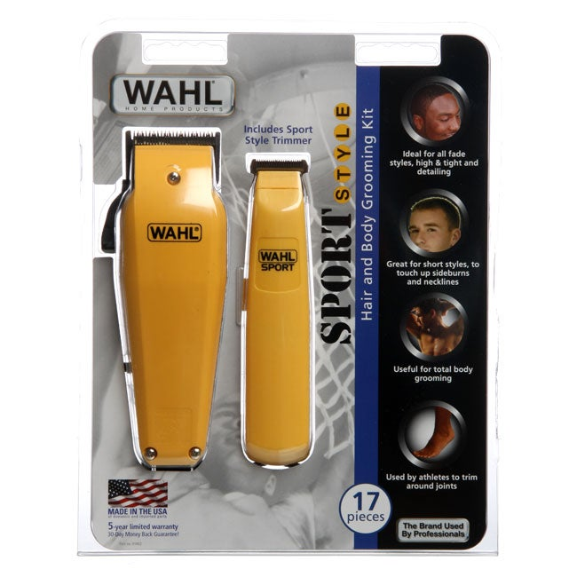 Wahl Sport Style 17 piece Haircutting Kit