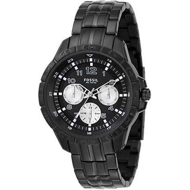 Fossil BQ9395 Men's Black Dial Multi-function Watch