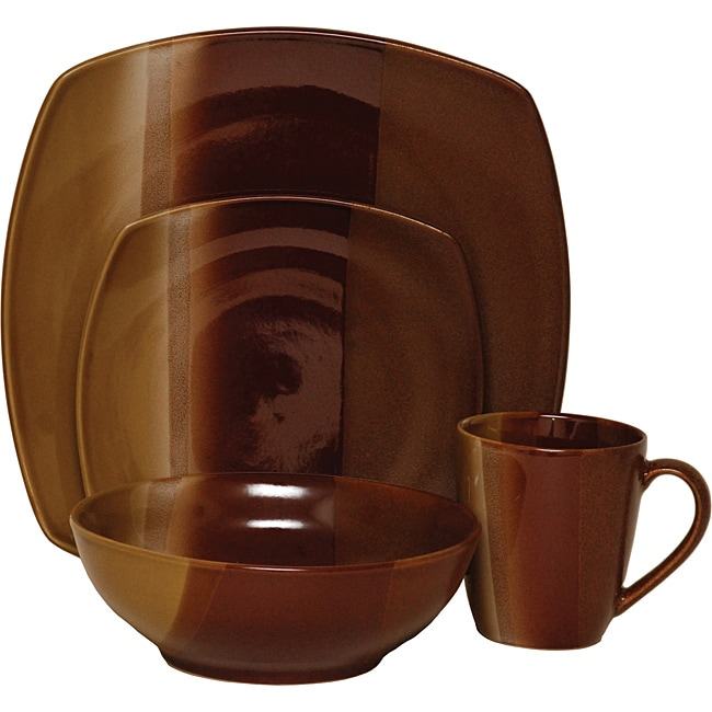 Sango Deco Gold 16-piece Dinnerware Set