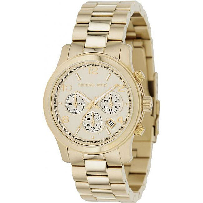 Overstock.com Michael Kors Women's MK5055 Chronograph Watch at Sears.com