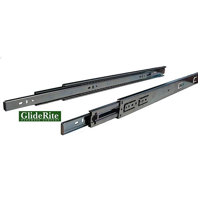 GlideRite 26-inch Full Extension Ball Bearing Drawer Slides (10-pairs)