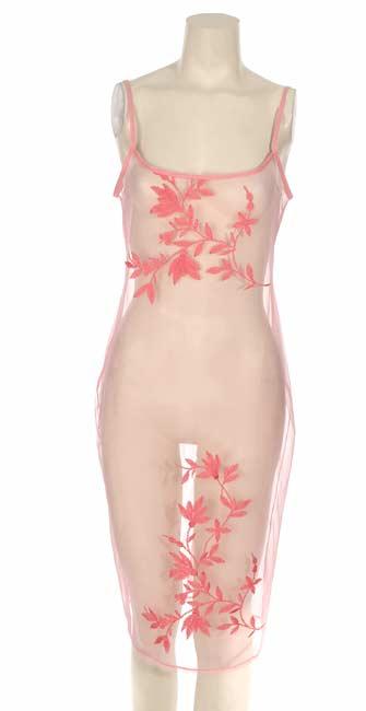 La Perla Size 12 Studio Pink Full Length Nightgown