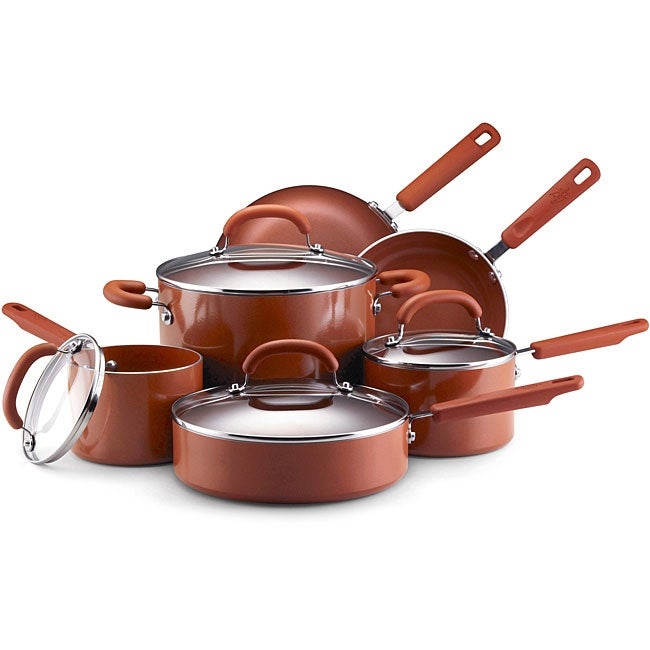 EarthPan II 10-piece Terracotta Cookware Set