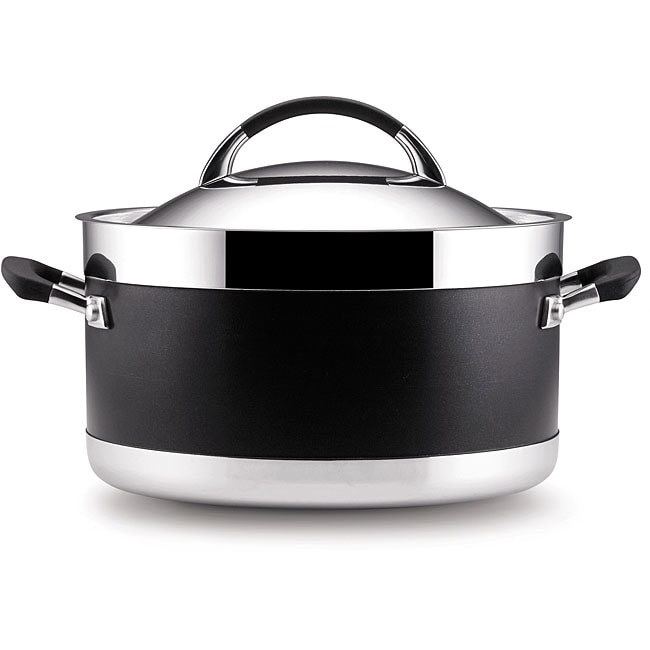 Anolon Ultra Clad Covered Stockpot (8-Quart)