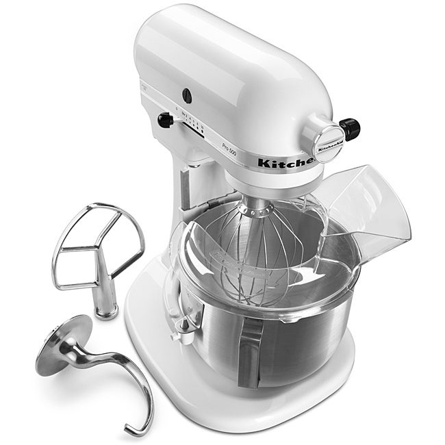 KitchenAid KSM500PSWH White Pro 500 Series 10-speed 5-quart Stand Mixer