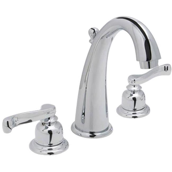 Huntington Sienna Wideset Polished Chrome Bathroom Faucet