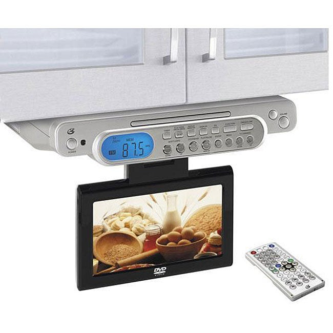 Gpx Kcld8887 Under Cabinet 8 1 Inch Lcd Tv Dvd Player