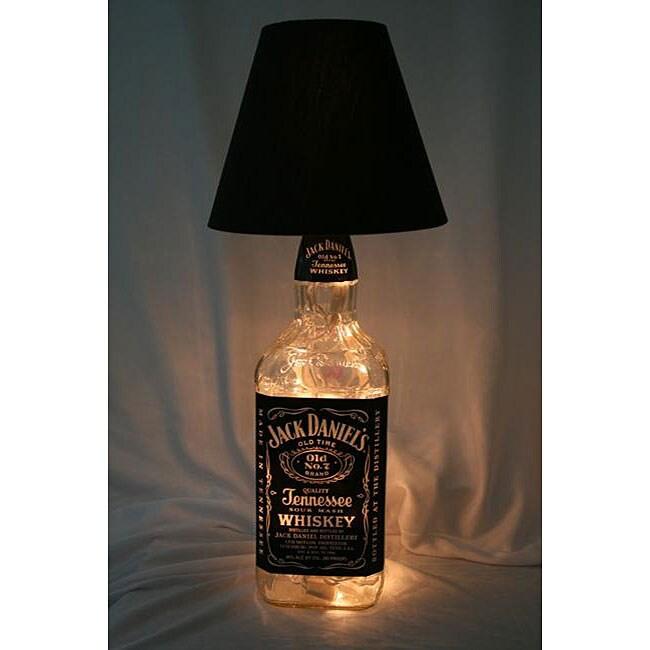 Jack Daniels Lighted Liquor Bottle Lamp - Overstock ...