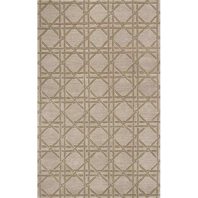 Hand-loomed Natural Diamonds Rug (3'6 x 5'6)