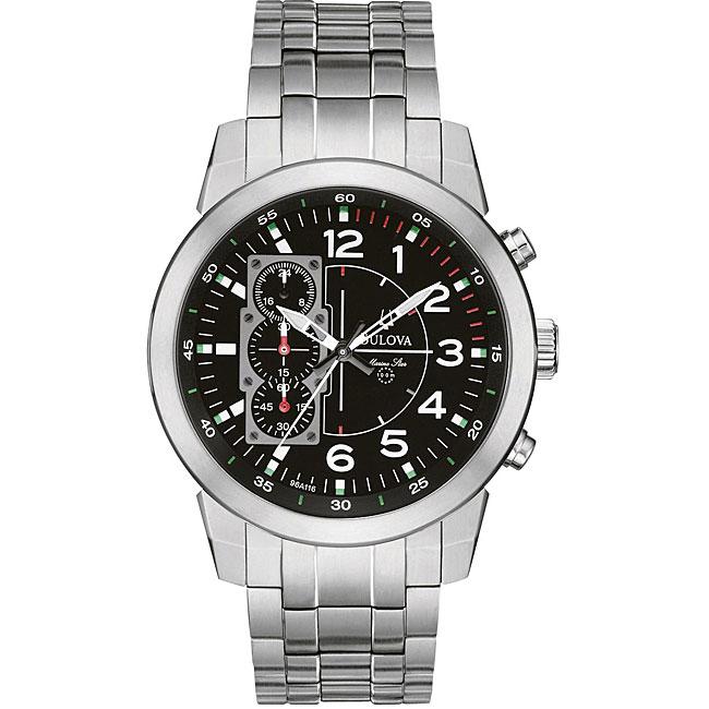 Bulova Men's Titanium Marine Star Chronograph Watch