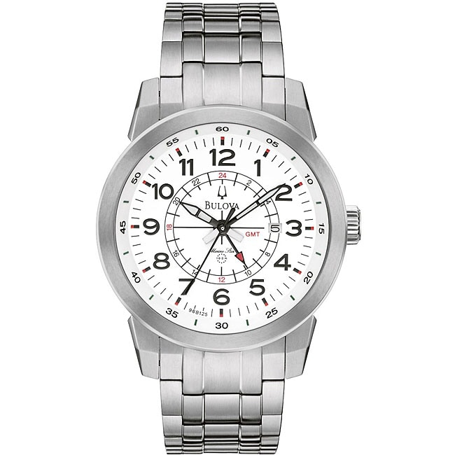 Bulova Men's Titanium Marine Star Watch