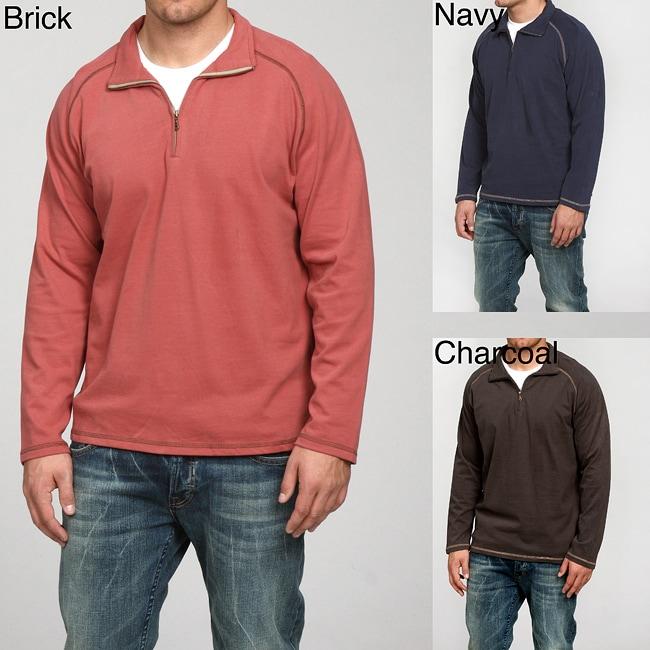 Andrew Fezza Men 39 S Quarter Zip Sweater Overstock
