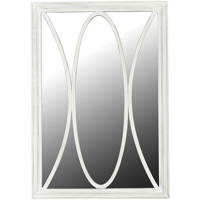 Portofino White Wall Mirror