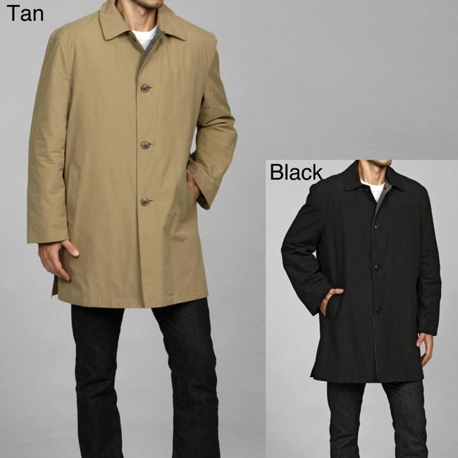 Joseph Abboud Men's 3/4-length Zip-out Liner Raincoat