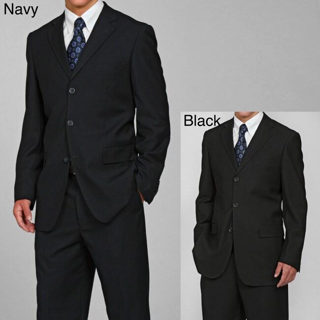 Eddie Domani Elite Men's 3-button Suit