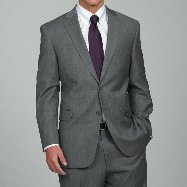 Austin Reed Men's Grey Wool Suit