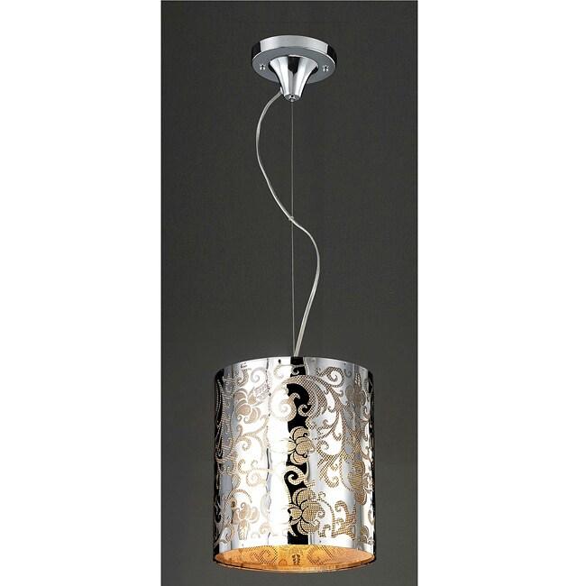 Stainless Steel Flower Mini Light Pendant