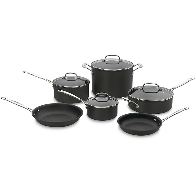 Cuisinart Chef's Classic 10-piece Nonstick Hard-Anodized Cookware Set