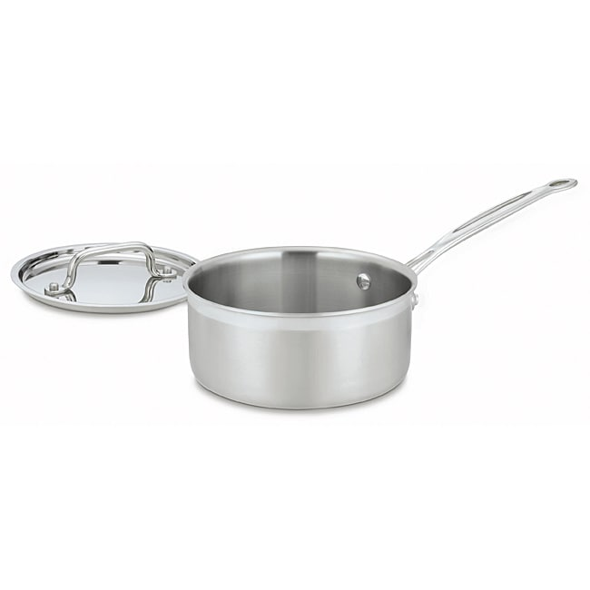 Cuisinart Multiclad Pro Stainless 2-Quart Saucepan with Cover