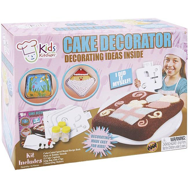 Childrens Deluxe Cake Decorating Kit