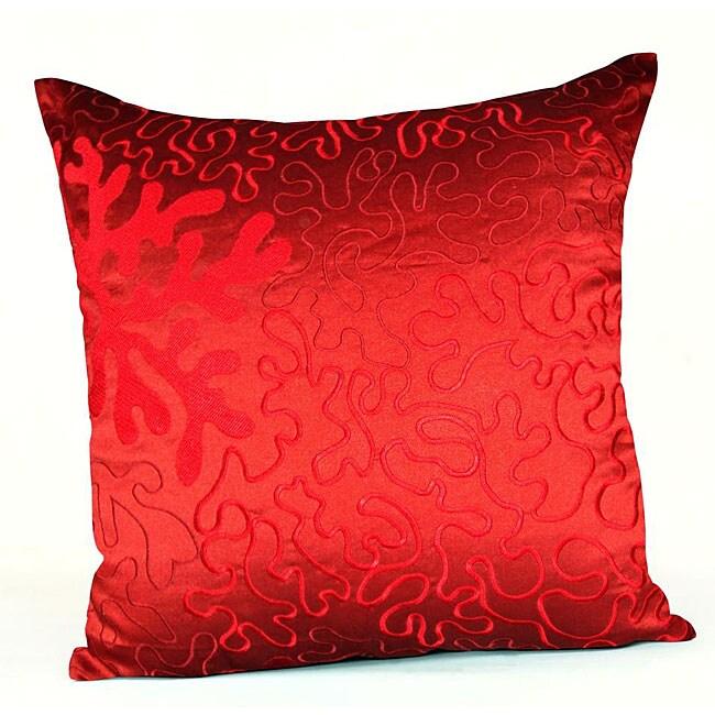 Jovi Home Coral Decorative Pillow