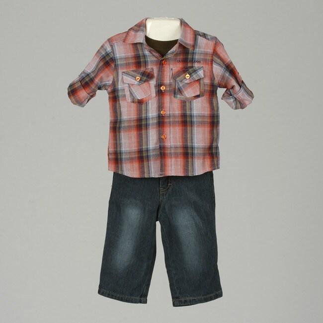 Calvin Klein Infant Boy's 3-piece Pants Suit